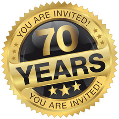 70 years - you are invited!