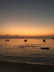 Sonnenuntergang in Nathon