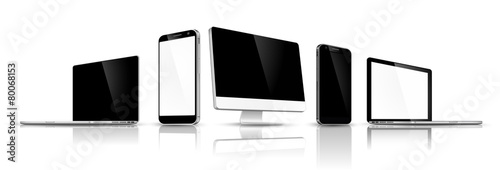 Set of modern devices - 80068153