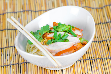 Red Pork Noodle Soup