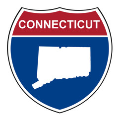 Connecticut interstate highway shield
