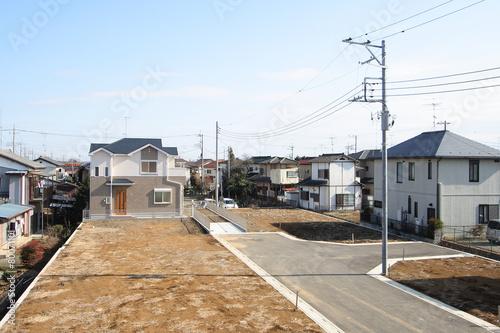 宅地造成された分譲住宅地 イメージ - 80071101