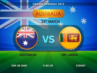 Australia vs Sri Lanka Cricket match schedule 2015.