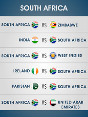 List of South Africa matches in Cricket World Cup 2015.