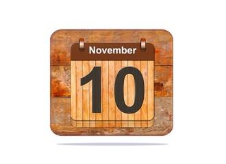 November 10.
