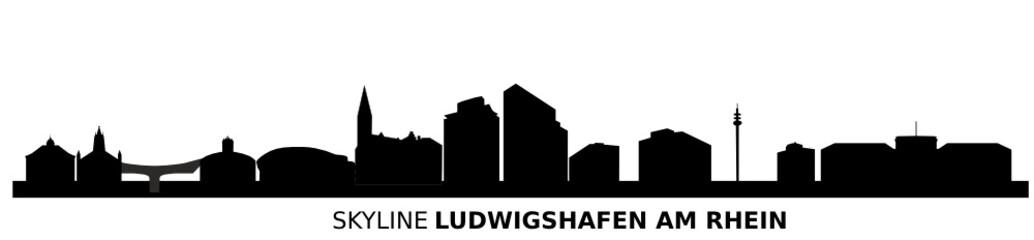 Skyline Ludwigshafen am Rhein