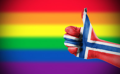 Positive attitude of Norway for LGBT community