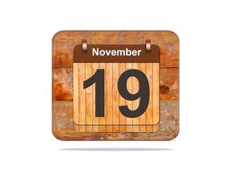 November 19.
