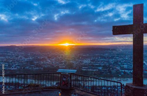 sunset over Trier