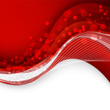 Abstract red background. Vector Illustration - 80075194