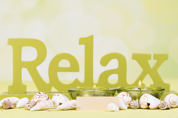 relaxen im kerzenschein