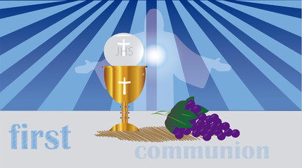 the sacrament First Holy Communion