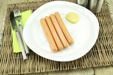 saucisses de Strabourg