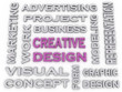 3d image Creative Design  issues concept word cloud background