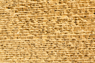 Great pyramid wall
