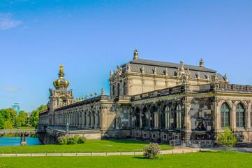 Dresden - Zwinger  Kronentor