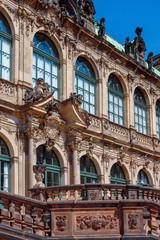 Dresden - Zwinger  Fassade