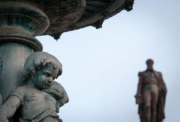 cherub statue lisbon