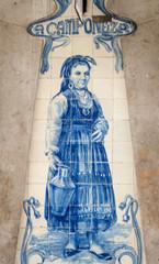ceramic sign lisbon