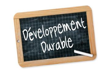 """Ardoise """"Développement Durable"""""""