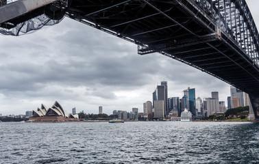 View of Sydney Harbour