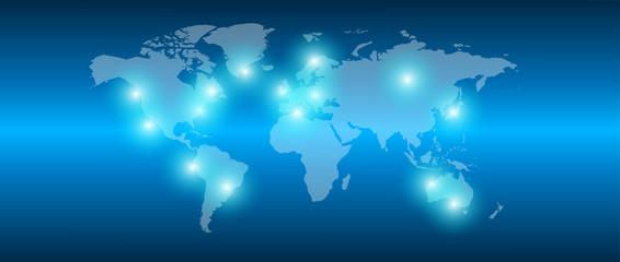collegamenti, mondo, internet, energia