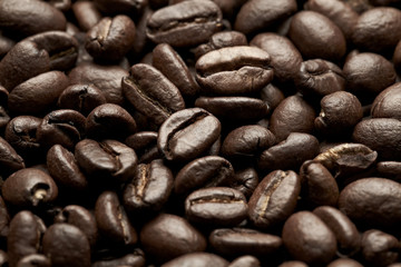 coffee beans closeup image