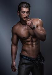 Muscular body.