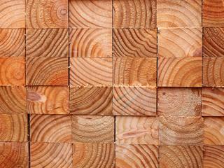 木材‐角材模様‐長方形
