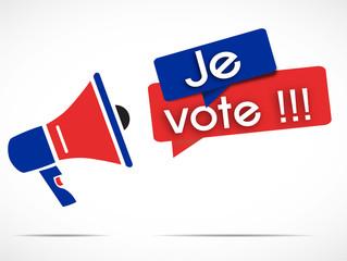 megaphone : je vote