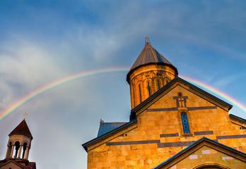 Samtavro monastery in Mtskheta, Georgia country