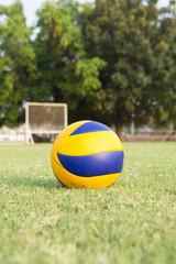 focus ball on ground