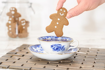 Gingerbread In Teacup