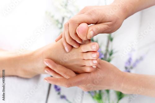 Masaż stóp, zdrowie i relaks