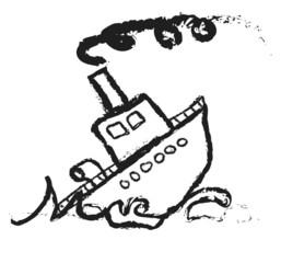 doodle Sinking Ship