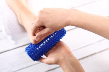 Rehabilitacyjny masaż stóp