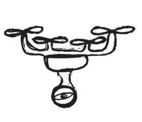 doodle drone with camera