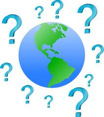 ziemia i znaki zapytania