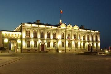Kazan Kremlin in the evening, Russia