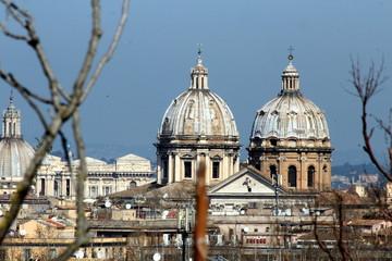 Roma - Panorama dall'Aventino