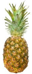 Ripe pineapple close up