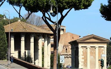 Roma - Tempio di Vesta e Casa delle Vestali