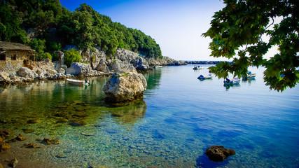 Damouchari, Pelion, Greece. Greek fishing village in Pilio