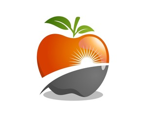 Apple Logo Template v.2