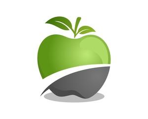 Apple Logo Template v.3