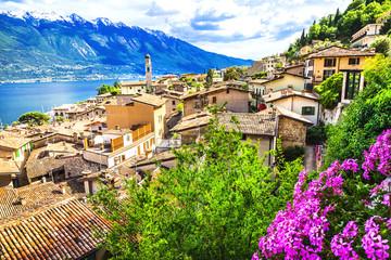 Limone - beautiful town in Lago di Garda, Italy north