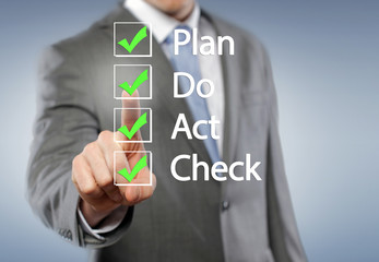 plan, do, act, check