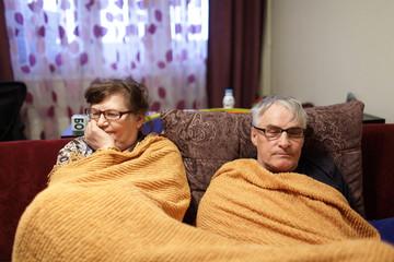 Senior couple conflict
