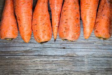Organic Food. Carrot.