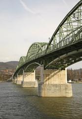 Maria Valeria Bridge in Sturovo. Slovakia